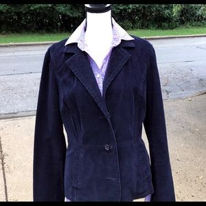 ST JOHNS BAY Blue corduroy jacket blazer
